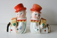Ceramic book stands 1920s?